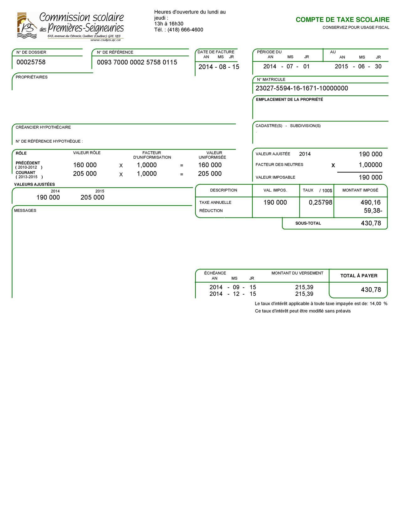 Demande en ligne multi pr ts hypoth ques alexandre gr goire 418 666 0486 - Releve cadastral de propriete gratuit ...